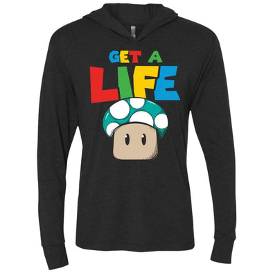 T-Shirts - Get A Life Premium Light Hoodie