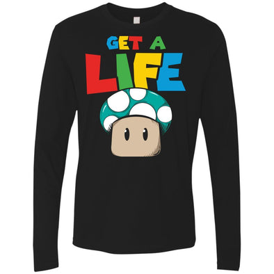 T-Shirts - Get A Life Premium Long Sleeve