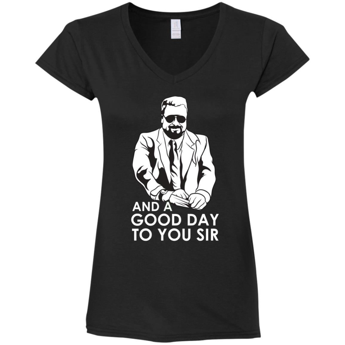 T-Shirts - Good Day Ladies V-Neck