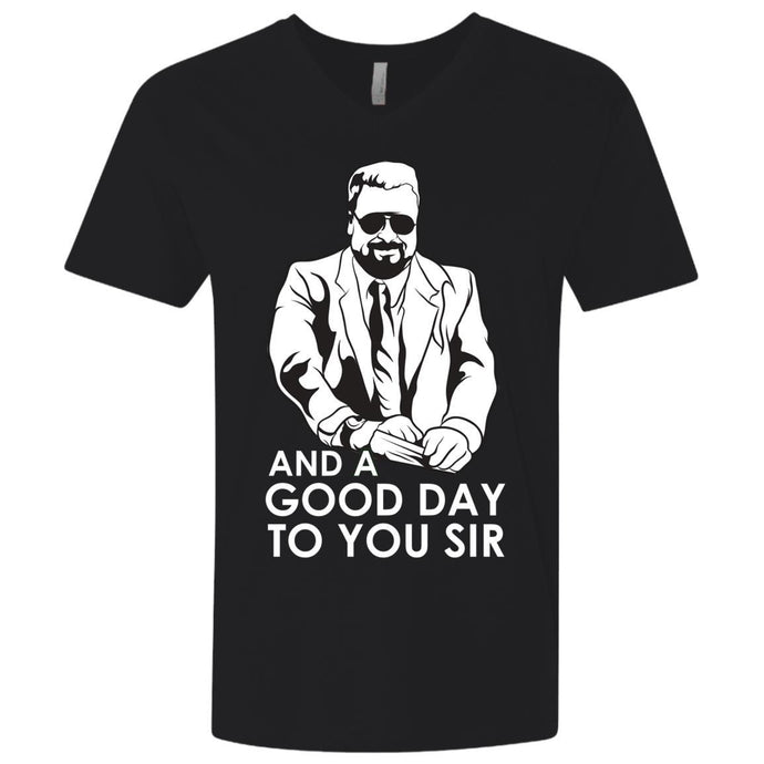 T-Shirts - Good Day Premium V-Neck