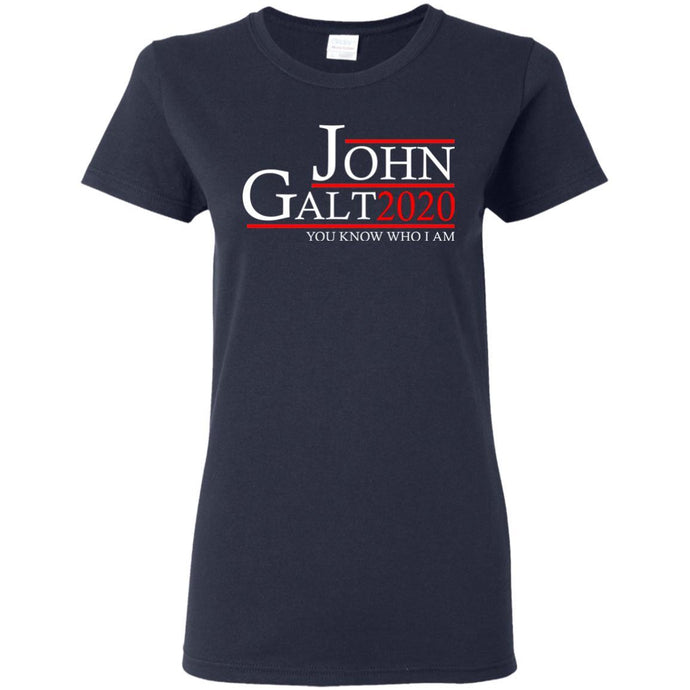 T-Shirts - John Galt 20 Ladies Tee