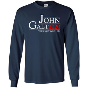 T-Shirts - John Galt 20 Long Sleeve