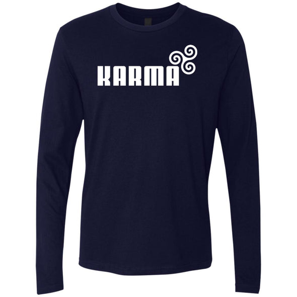 T-Shirts - Karma Premium Long Sleeve