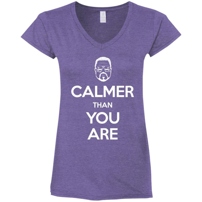 T-Shirts - Keep Calmer Ladies V-Neck