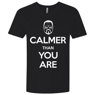 T-Shirts - Keep Calmer Premium V-Neck