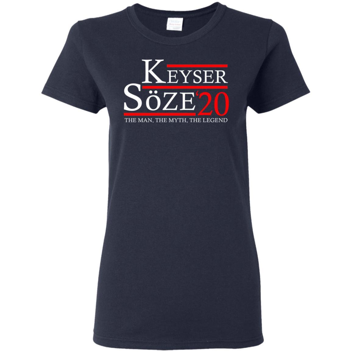 T-Shirts - Keyser Soze 20 Ladies Tee