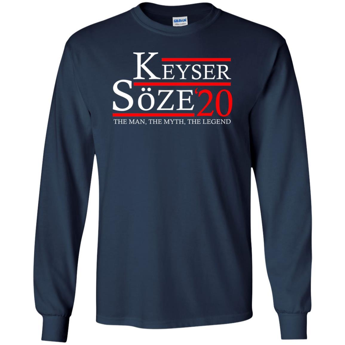 T-Shirts - Keyser Soze 20 Long Sleeve