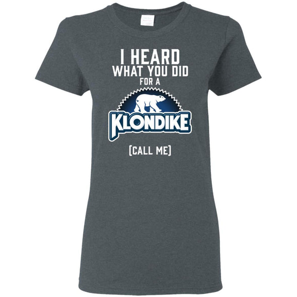 T-Shirts - Klondike Logo Ladies Tee