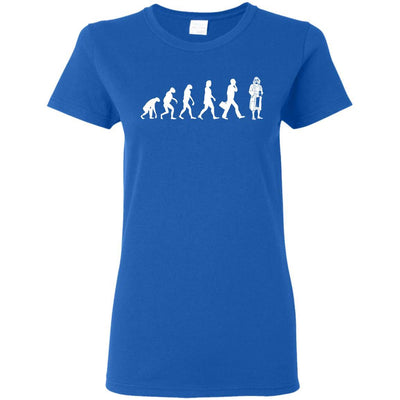 T-Shirts - Lebowski Evolution Ladies Tee