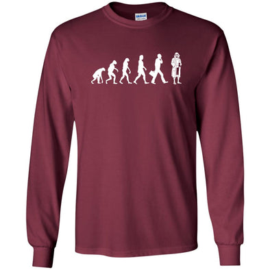 T-Shirts - Lebowski Evolution Long Sleeve