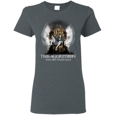 T-Shirts - Lebowski Iron Throne Ladies Tee
