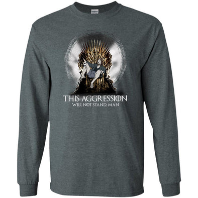 T-Shirts - Lebowski Iron Throne Long Sleeve