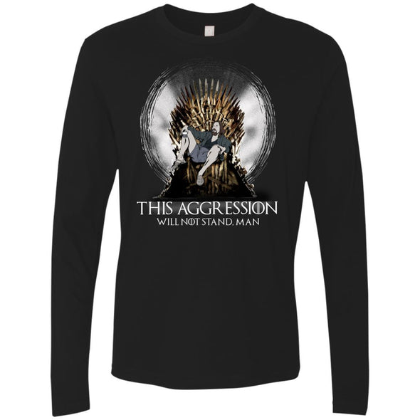 T-Shirts - Lebowski Iron Throne Premium Long Sleeve