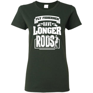T-Shirts - Longer Rods Ladies Tee