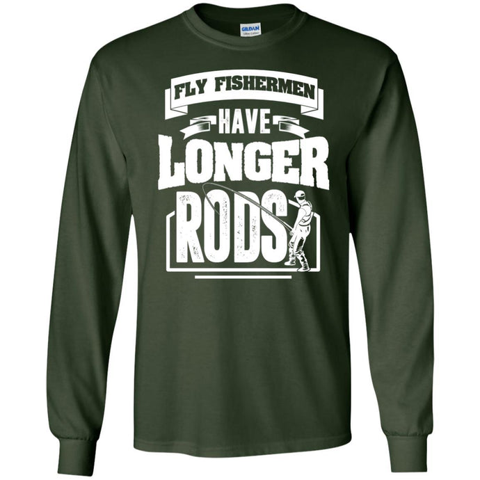 T-Shirts - Longer Rods Long Sleeve