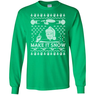 T-Shirts - Make It Snow Long Sleeve