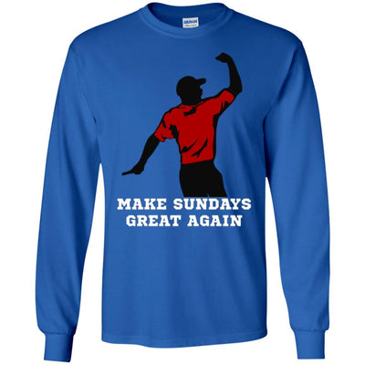 T-Shirts - Make Sundays Great Again Long Sleeve