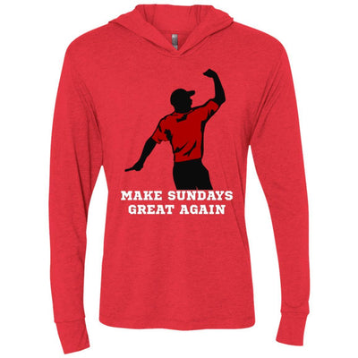 T-Shirts - Make Sundays Great Again Premium Light Hoodie