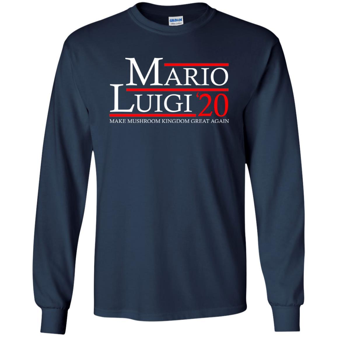 T-Shirts - Mario Luigi 20 Long Sleeve