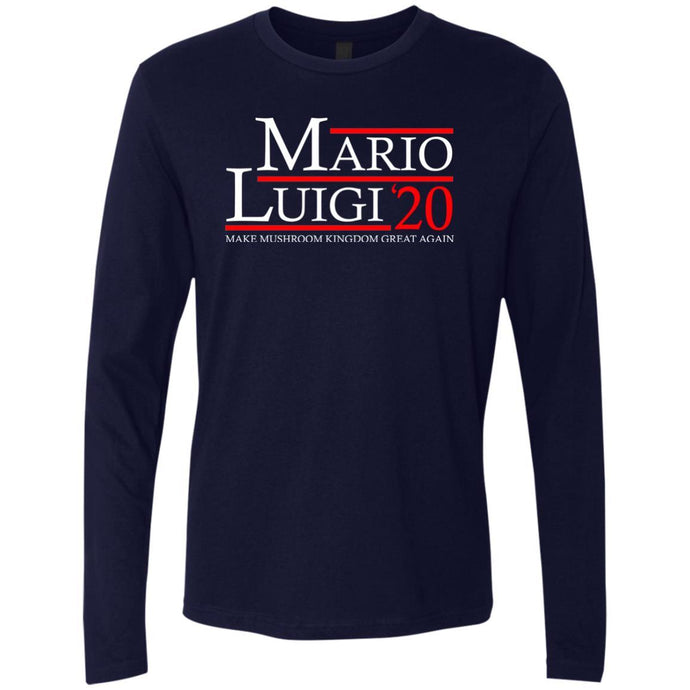 T-Shirts - Mario Luigi 20 Premium Long Sleeve