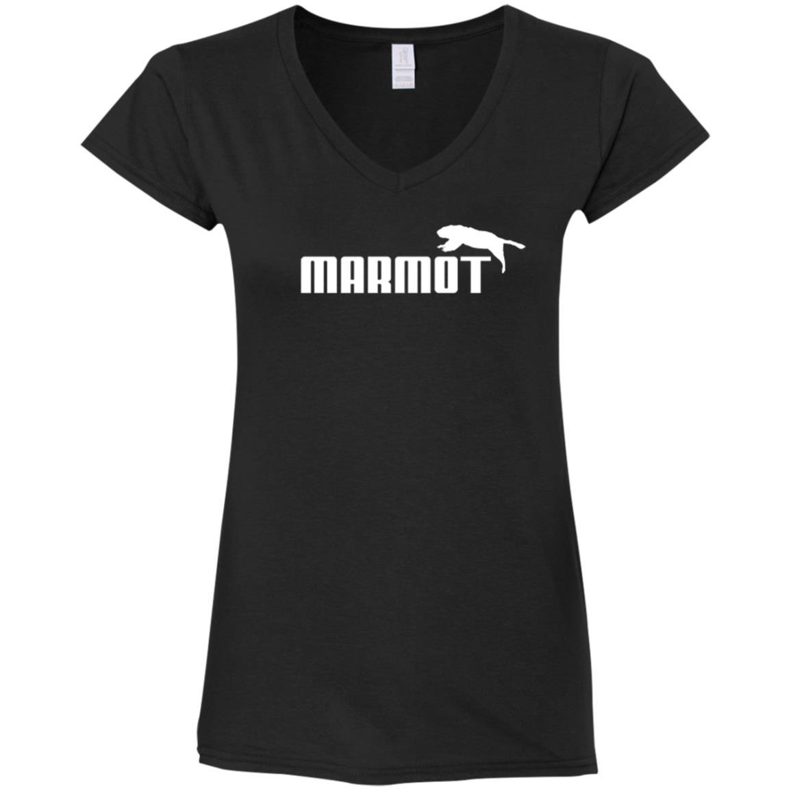 T-Shirts - Marmot (not Puma) Ladies V-Neck