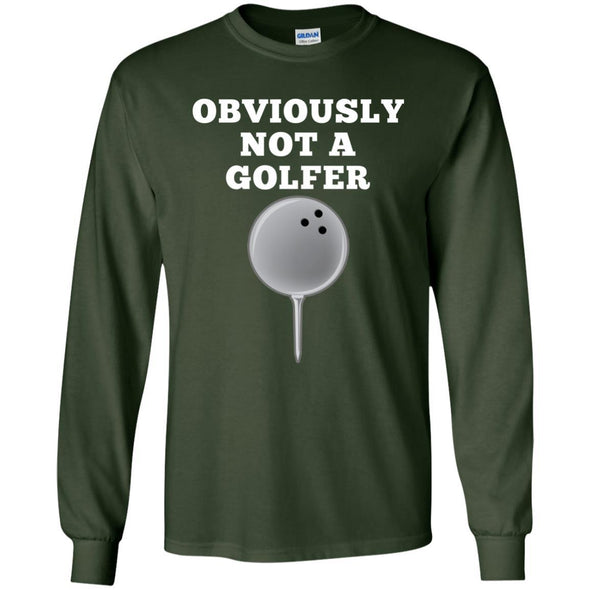 T-Shirts - Not A Golfer Long Sleeve
