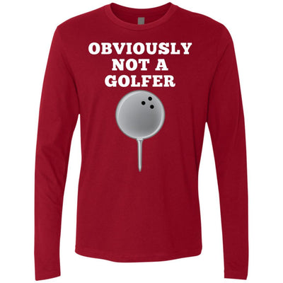 T-Shirts - Not A Golfer Premium Long Sleeve