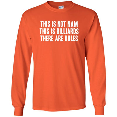 T-Shirts - Not Nam Billiards Long Sleeve