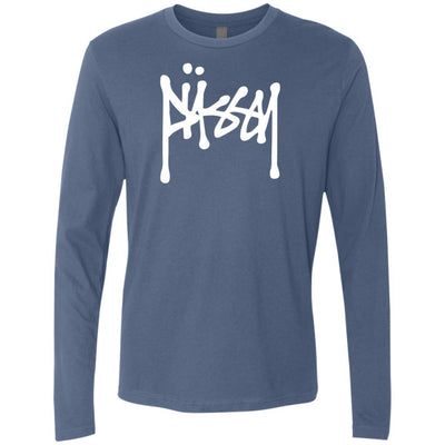 T-Shirts - Not Stussy Premium Long Sleeve