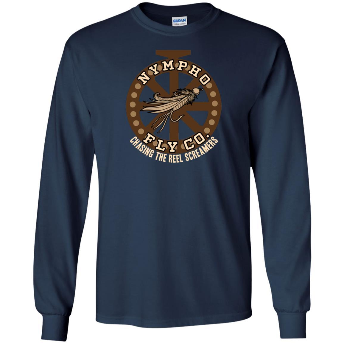 T-Shirts - Nympho Fly Co Long Sleeve