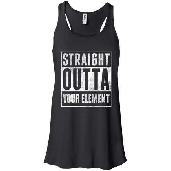 T-Shirts - Outta Your Element Flowy Tank