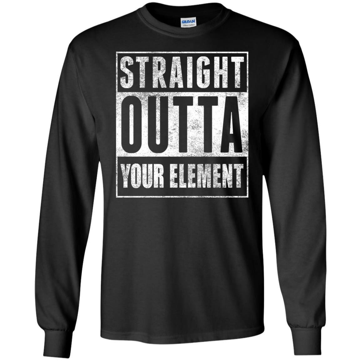 T-Shirts - Outta Your Element Long Sleeve