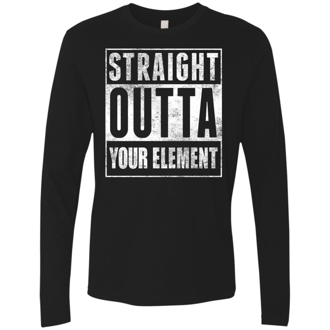 T-Shirts - Outta Your Element Premium Long Sleeve