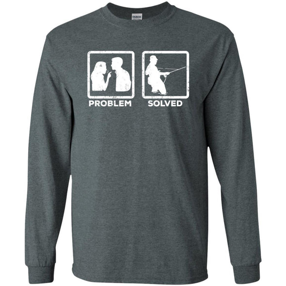 T-Shirts - Problem Solved Fly Long Sleeve