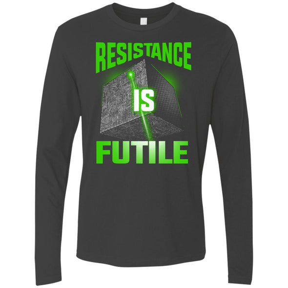 T-Shirts - Resistance Is Futile Premium Long Sleeve