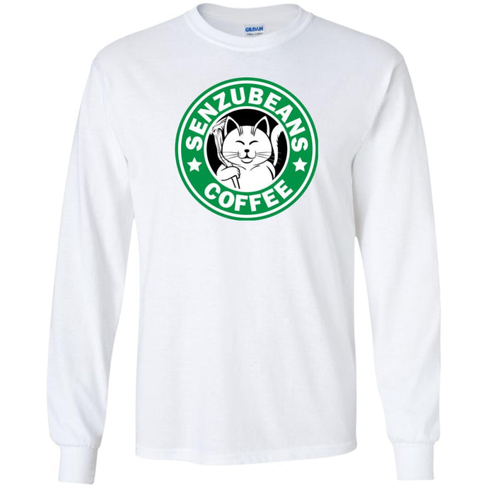 T-Shirts - Senzubeans Coffee Long Sleeve