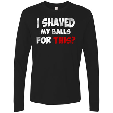 T-Shirts - Shaved Balls Premium Long Sleeve