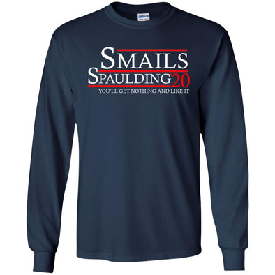 T-Shirts - Smails Spaulding 2020 Long Sleeve