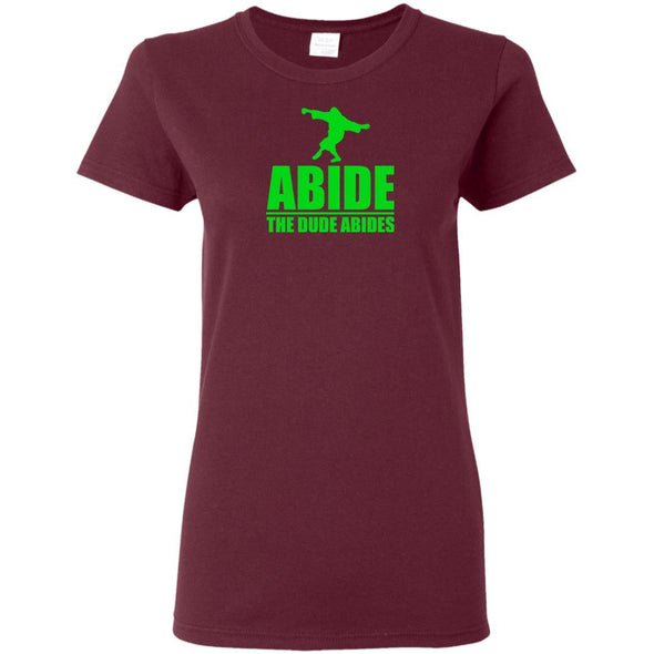 T-Shirts - The Dude Abides Ladies Tee