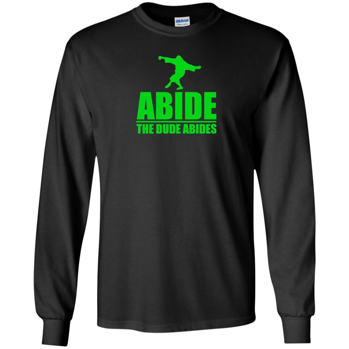 T-Shirts - The Dude Abides Long Sleeve