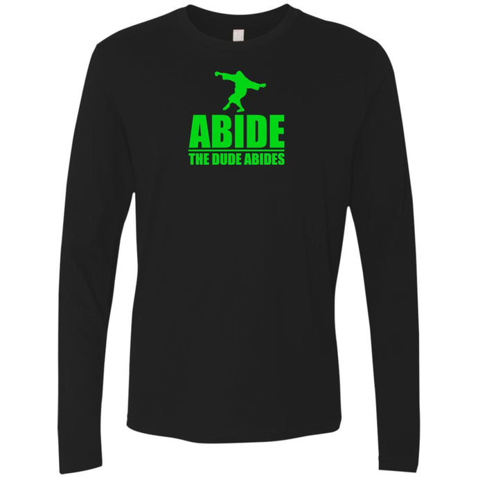 T-Shirts - The Dude Abides Premium Long Sleeve