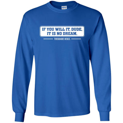 T-Shirts - Theodore Herzl Long Sleeve