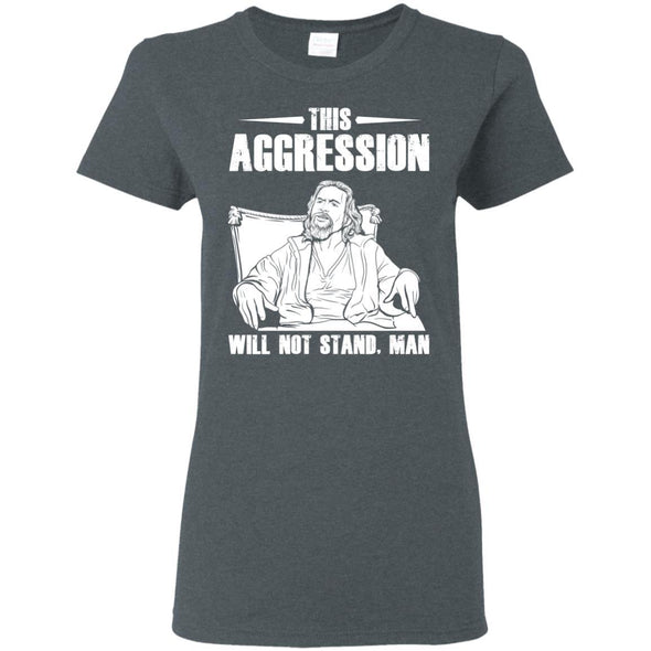 T-Shirts - This Aggression Ladies Tee