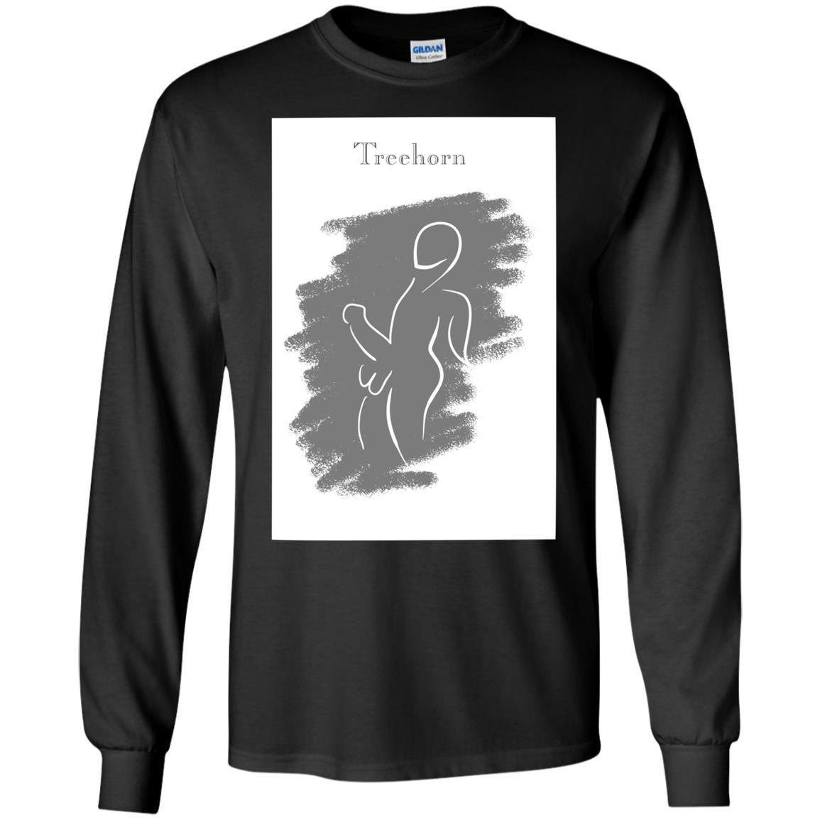 T-Shirts - Treehorn Sketch Long Sleeve