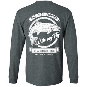 T-Shirts - Trouser Trout Long Sleeve