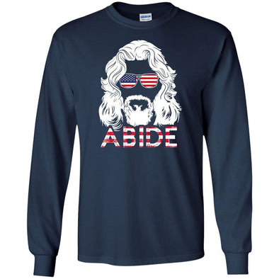 T-Shirts - USA Abide Long Sleeve