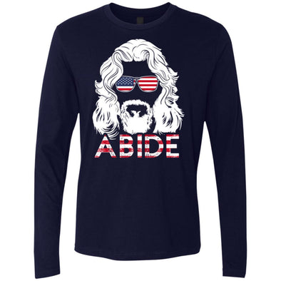 T-Shirts - USA Abide Premium Long Sleeve