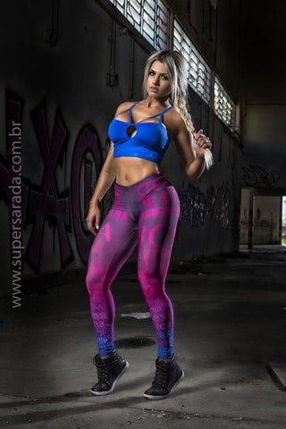 Legging SuperSarada Ice Suplementos 20005 - SuperSarada Moda Fitness