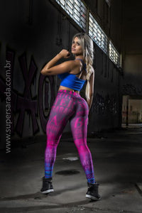 Legging SuperSarada Ice Suplementos 20005 - SuperSarada - Moda Fitness