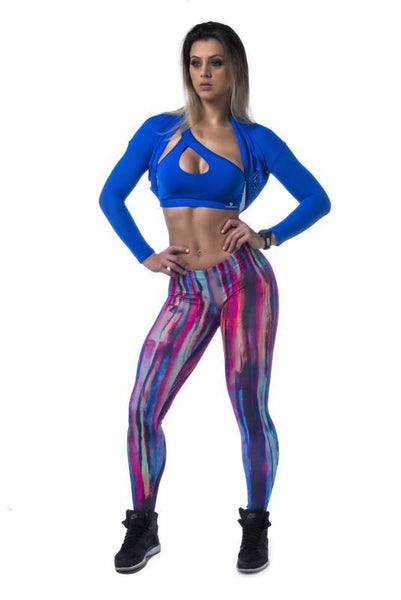 Legging SuperSarada Ice New Pink 20009 - SuperSarada Moda Fitness - Roupas para Academia